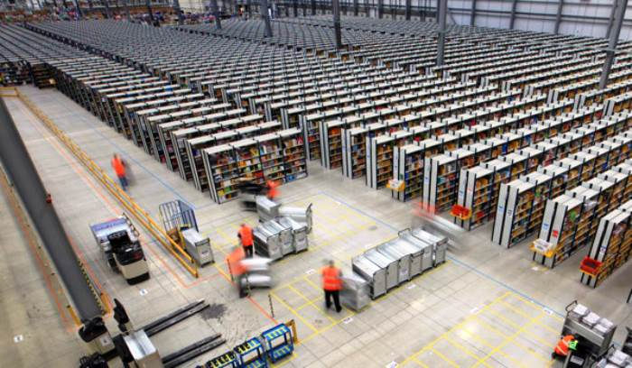 Inside Amazon's Warehouses