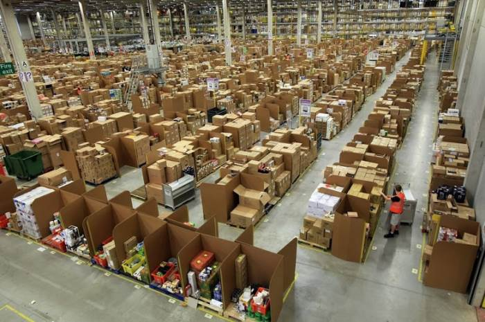 Amazon Shipping Warehouses