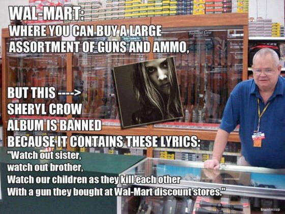 gun control cartoons sheryl crow The Best Gun Control Cartoons And Memes