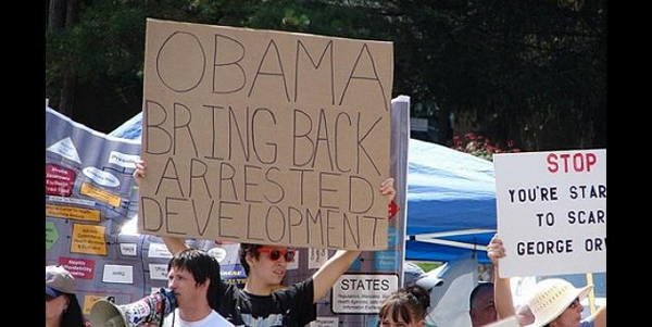 hilarious protest signs arrested development The Most Hilarious Protest Signs Ever