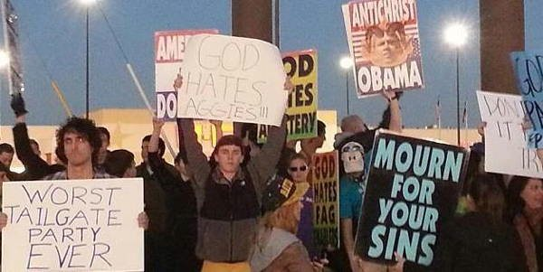 hilarious protest signs westboro The Most Hilarious Protest Signs Ever