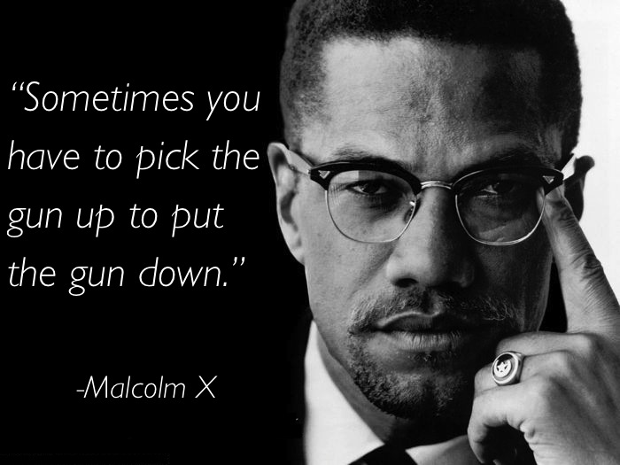 pacifism quotes malcolm x Eleven Great Thoughts On Pacifism