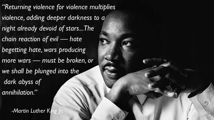 pacifism quotes mlk Eleven Great Thoughts On Pacifism